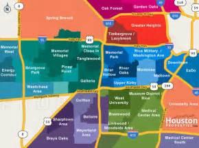 houston map areas houston neighborhoods houston map real estate homes