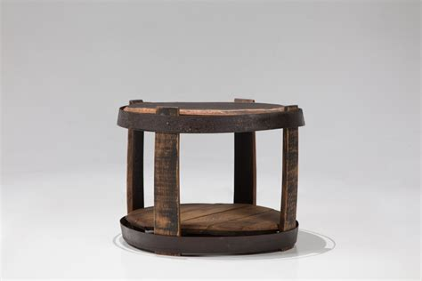 Barrel Side Table Whiskey Barrel Side Table