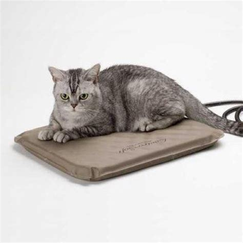 heated cat beds k h heated lectro indoor outdoor cat bed sm free cover ebay