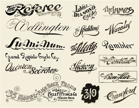 tattoo font vintage some old school lettering styles hmm pinterest