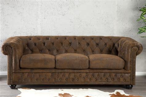 poltrone e sofa reclami divano chester vintage 3 posti