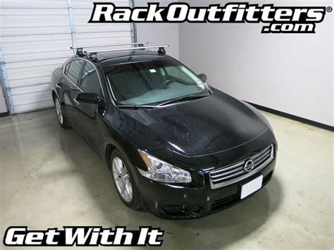 Bike Rack For Nissan Maxima by Nissan Maxima Thule Rapid Traverse Silver Aeroblade Roof