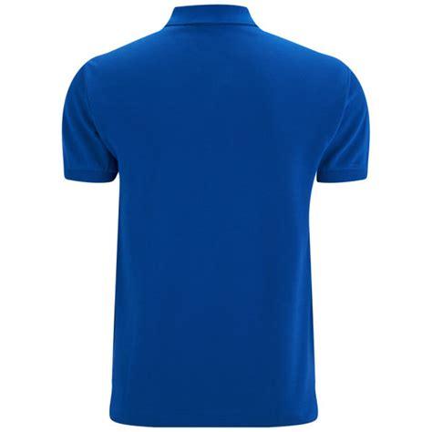 lacoste men s polo shirt royal blue clothing thehut com