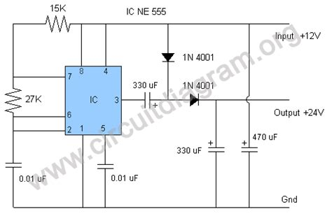 capacitor voltage booster circuit dc voltage doubler multiplier circuit electronics in embedded system
