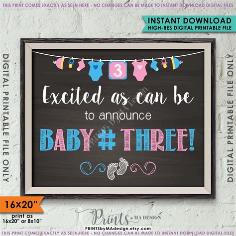 Is Expecting Baby Number Three by Baby Number 3 Pregnancy Announcement 3rd Baby 3