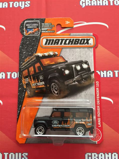 matchbox land rover defender 110 2016 land rover defender 110 84 2017 matchbox case c 1 grana