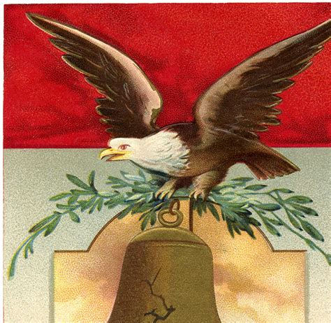 vintage patriotic eagle image  graphics fairy