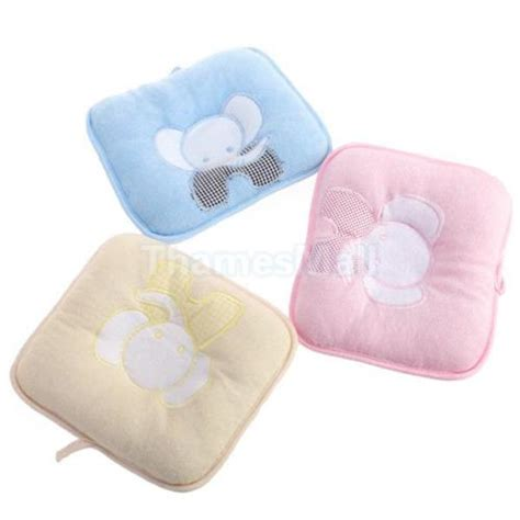 Pillow For Infants by Elephant Shape Baby Infant Toddler Sleeping Support Pillow