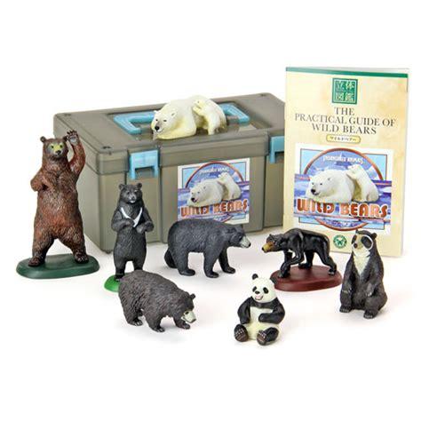 figure box 動物 生物 立体図鑑 ワイルドベアーボックス 立体図鑑リアルフィギュアボックス カロラータ オンラインショップ