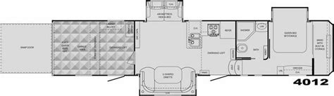 cyclone rv floor plans 2008 heartland cyclone 4012 fifth wheel mesa az little dealer