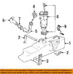 Fuel System Parts Dodge Chrysler Oem 1990 D150 Fuel System Fuel Tank