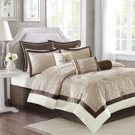 beautiful white comforter sets beautiful modern elegant chic beige taupe tan brown ivory