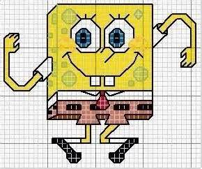 Headset Spongebob Unik By M A C 337 best images about cross stitch on