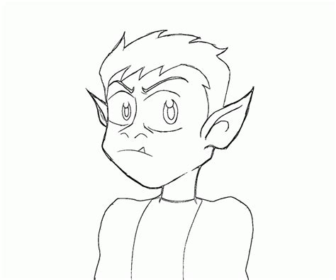 coloring pages beast boy beast boy coloring pages coloring home
