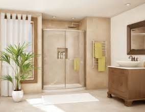 Bathroom Shower Doors Ideas Bath To Shower Conversions With Glass Blocks Curved Glass