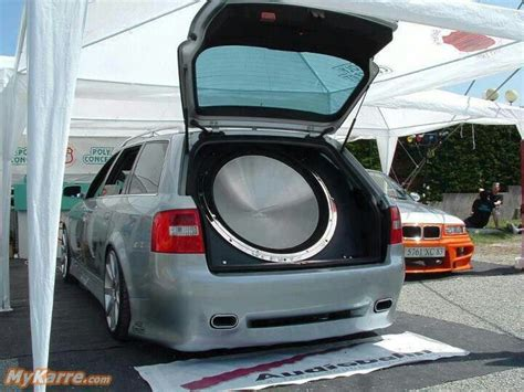 Auto Subwoofer by Possibly The World S Largest Subwoofer Custom Car