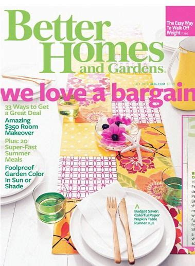 free better homes and gardens magazine 1 year subscription freebies pinterest gardens