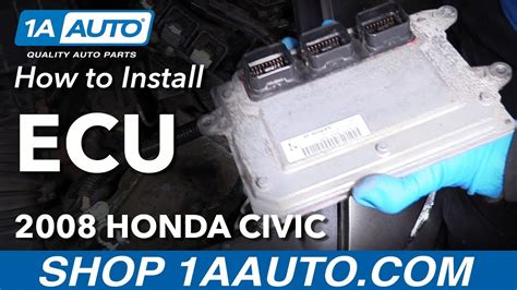 repair voice data communications 1980 honda civic electronic valve timing how to remove reinstall computer 2008 honda civic ecu ecm electronic control module youtube