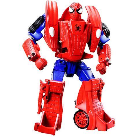Harga Vans Marvel Original spider car transformers toys tfw2005
