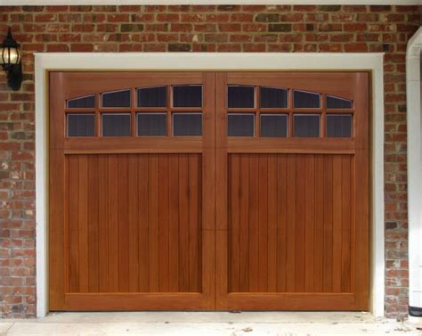 Wooden Garage Doors Wood Garage Doors Trendslidingdoors