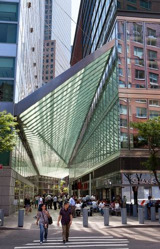 design art arcade ny architectural canopy shines in battery park city the new
