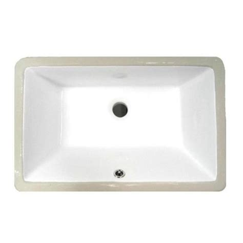 Small Porcelain Sink by Denovo Small White Rectangular Undermount Porcelain