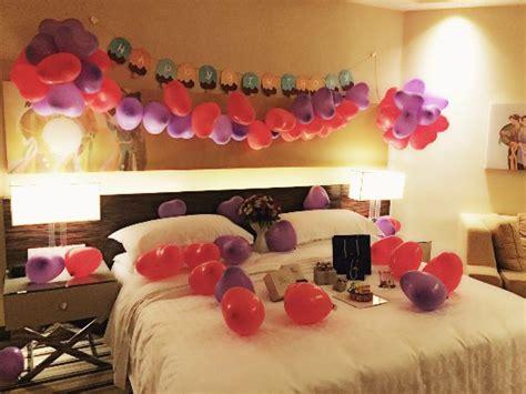birthday room decoration picture  sheraton nha trang