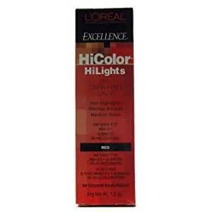 hi color loreal loreal excel hicolor hilights 1 2oz