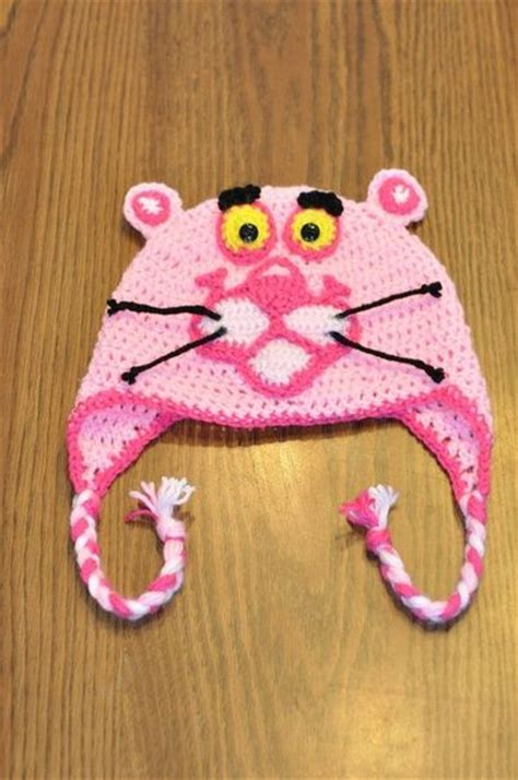 pink panther hat crochet ideas  tips juxtapost