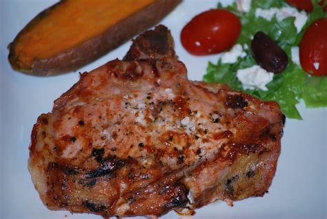 meals for busy families grilled pork chops