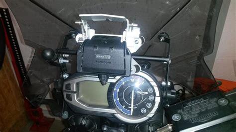 Navi Am Motorrad Montieren by Navihalterung Tiger 800 Technik Tiger Serie Mit 800ccm