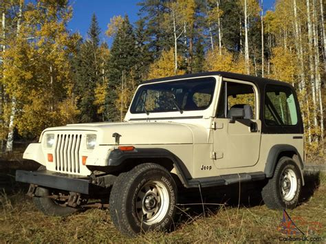 first jeep wrangler 1987 owned jeep yj wrangler survivor all original