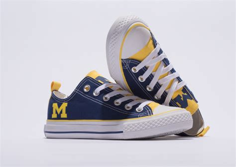 michigan shoes of michigan student launches skicks