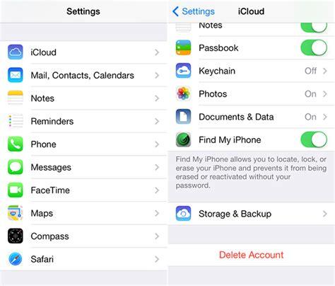 cara membuat icloud di iphone 6 cara menghapus backup icloud di iphone insightmac com