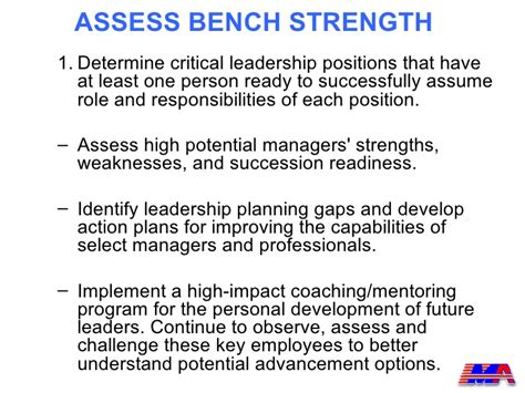 bench strength succession planning succession planning model