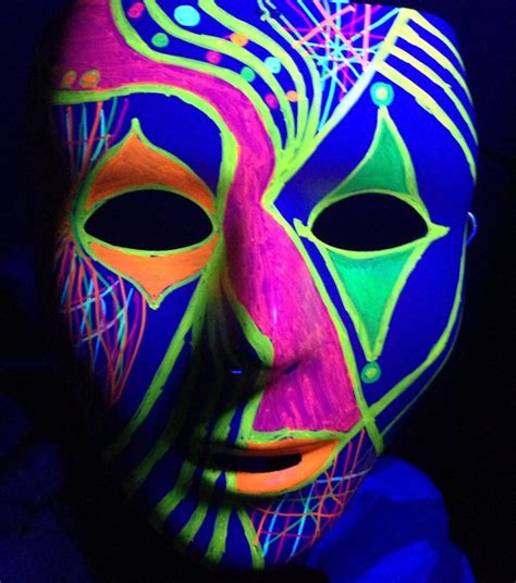 glow in the paint toronto glow in the mask painting fresh paint studio