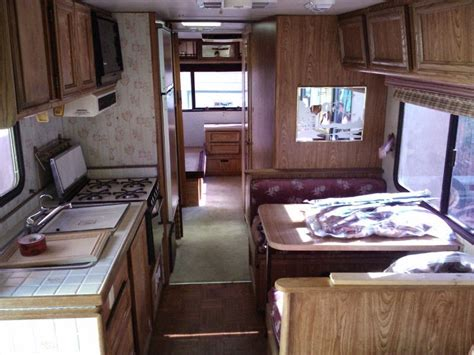 motor home interiors used rvs 1988 gm motorhome for sale for sale by owner