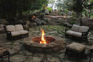 How To Landscape A Sloped Backyard 11 Awesome Outdoor Fireplace And Firepit Design Ideas