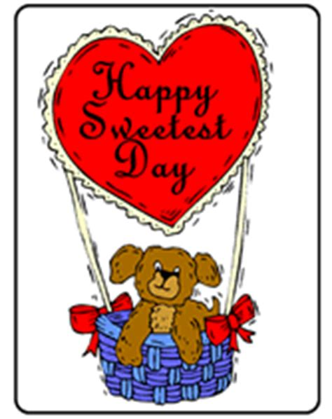 free sweetest day card templates happy sweetest day printable greeting cards templates