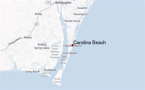 carolina map of beaches carolina location guide