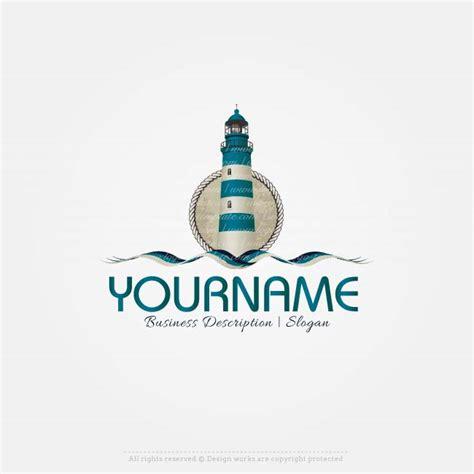 create  logo template lighthouse logo