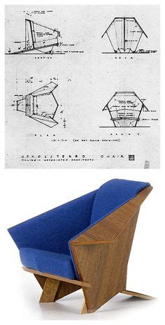 taliesin origami chair frank lloyd wright f u r n i