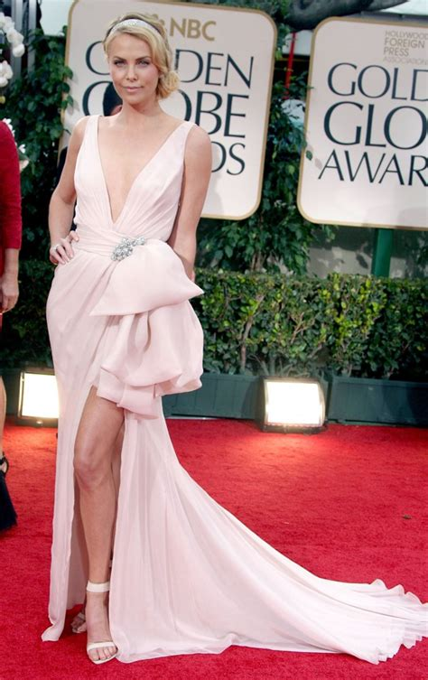 The Look For Less Charlize Therons 2005 Golden Globes Dress by Charlize Theron Picture 108 The 69th Annual Golden Globe