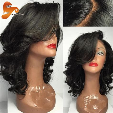 wet hair styles for black women brazilian full lace human hair wigs for black women wet