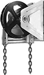 garage door chain hoist