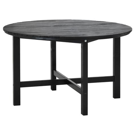 196 ngs 214 table outdoor black brown stained black brown