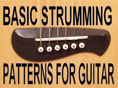 strumming pattern for gold rush basic strumming guitar lessons intro scott grove youtube