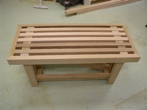 cedar bench plans dempsey woodworking bench