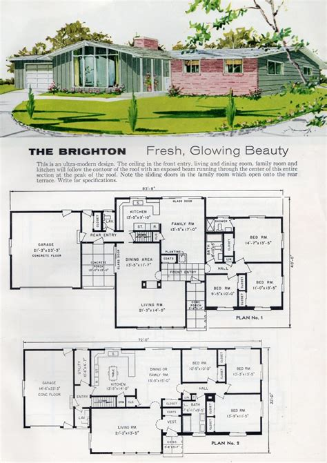 atomic ranch floor plans 456 best images about atomic ranch on pinterest floor