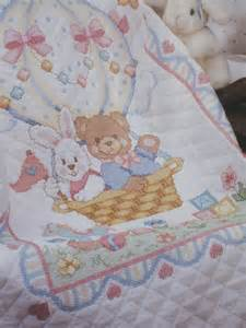 baby quilt kit sted cross stitch 1992 dimensions